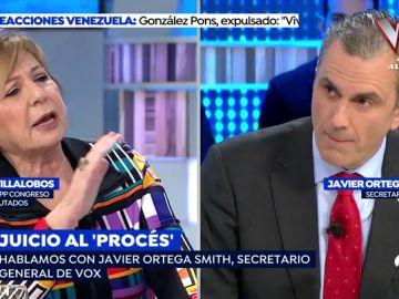 Enfrentamiento en directo en 'Espejo Público'