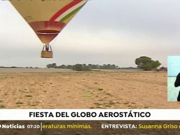 Las imágenes más espectaculares de la carrera de globos de Valencia