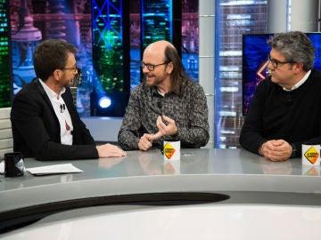 La locura de Santiago Segura y Florentino Fernández por los postres de los restaurantes