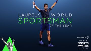 Djokovic, mejor deportista de 2018 en los Premios Laureus