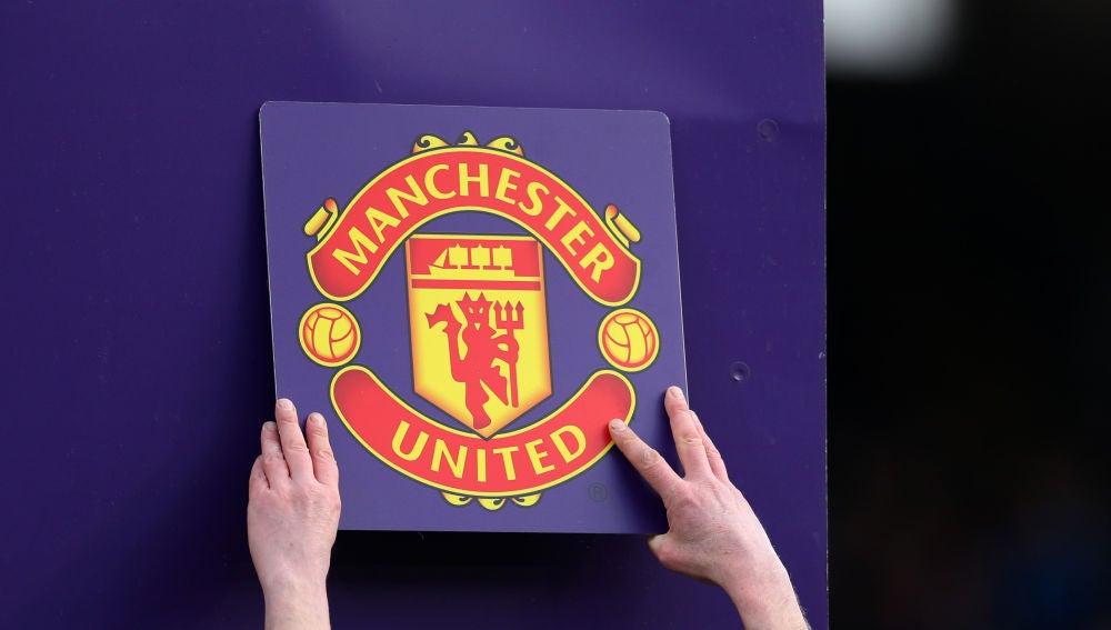 El escudo del Manchester United