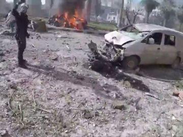 Al menos 17 muertos y más de 50 heridos en un doble atentado con coche bomba en Siria