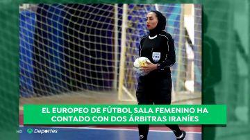 Árbitras tapadas, televisiones sin imágenes de mujeres en atuendo deportivo... La situación de las deportistas en Irán