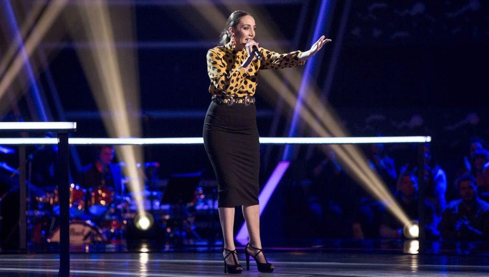 VÍDEO: María Portillo canta 'Puede ser' en los Asaltos de 'La Voz'