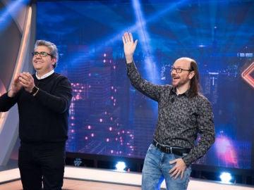 Disfruta de la entrevista completa de Florentino Fernández y Santiago Segura en 'El Hormiguero 3.0'