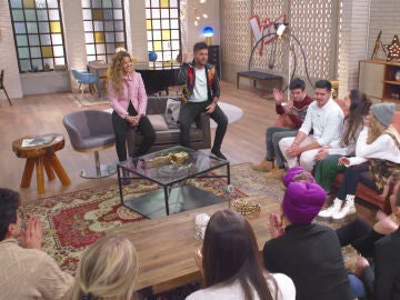 """VÍDEO: Pablo López y Miriam Rodríguez emocionan a los talents de su equipo: """"Si os han escogido es por algo"""""""