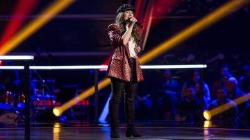 VÍDEO: Marina Damer canta 'Prometo' en los Asaltos de 'La Voz'