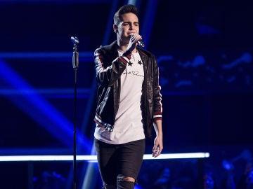 Juanjo García canta 'Desde cuando' en los Asaltos de 'La Voz'