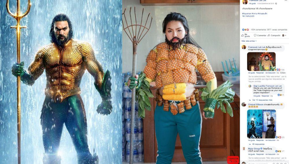 Cosplay de Aquaman