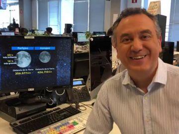 Roberto Brasero nos explica el fenómeno de la 'Superluna'