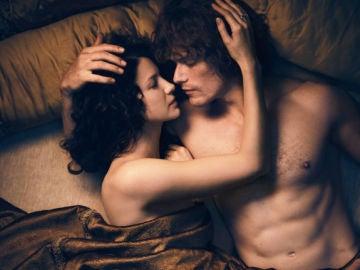 Los protagonistas de 'Outlander'