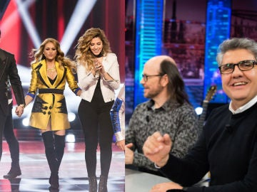 'La Voz' y 'El Hormiguero 3.0', de nuevo líderes absolutos