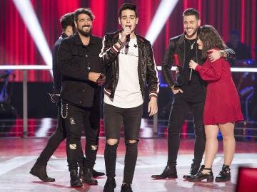VÍDEO: Juanjo hace su sueño realidad y canta con Antonio Orozco