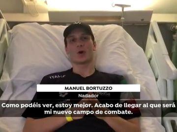 """Manuel Bortuzzo, el nadador que quedó paralítico al recibir un disparo: """"No veo la hora de dar todo"""""""
