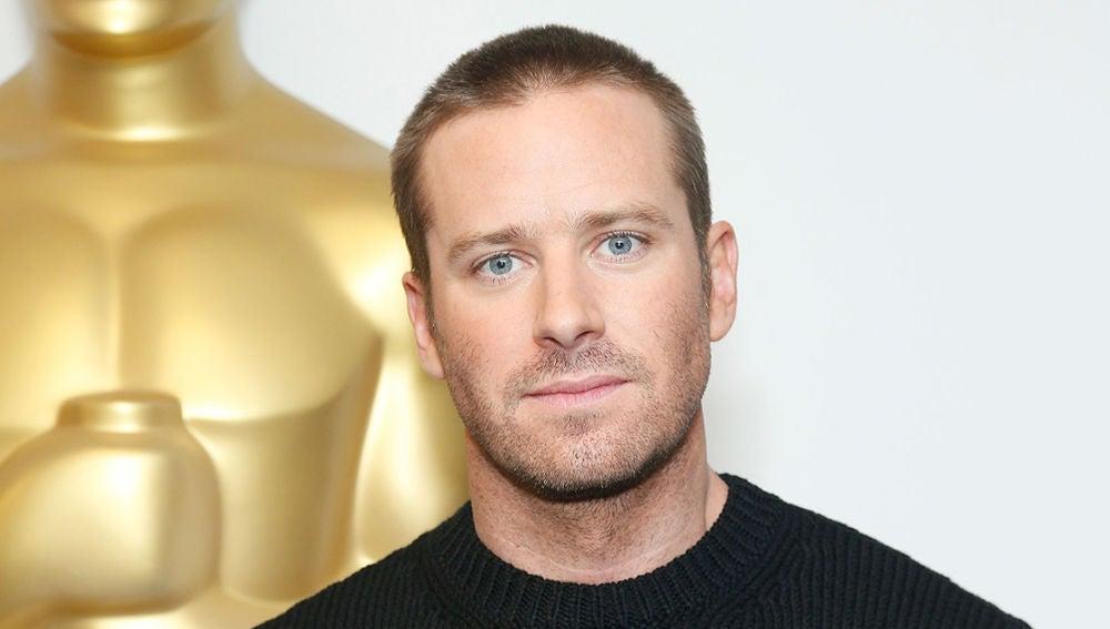 El actor Armie Hammer