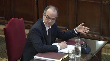 El exconseller Jordi Turull declara en el Tribunal Supremo por el juicio del 'procés'
