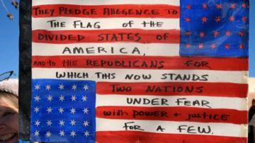 Detienen a un niño de 11 años por negarse a homenajear la bandera en un escuela de EE.UU.