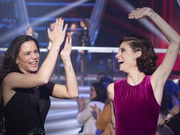 La Voz - Asaltos 2 - Teresa Ferrer y Lorena Fernández se quedan en el equipo Antonio