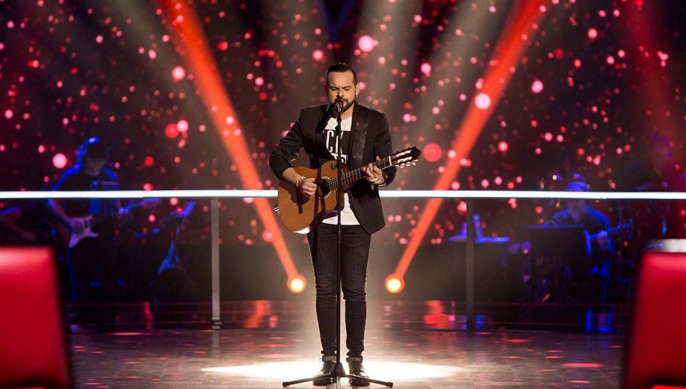 Vídeo: Tare Cortés canta 'Amiga mía' en los Asaltos de 'La Voz'