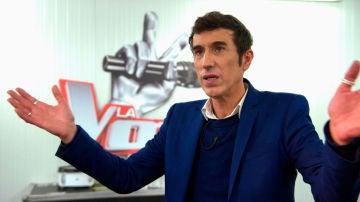 """Vocal coach de 'La Voz': """"Andrés es una bestia"""""""
