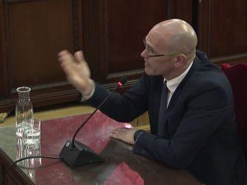 """Romeva:  """"Reiteramos la necesidad de empezar una negociación para empezar ese mandato político"""""""