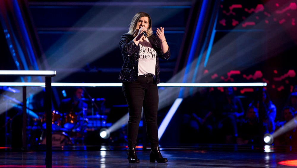 VÍDEO: Iria Regueiro canta 'Imposible' en los Asaltos de 'La Voz'