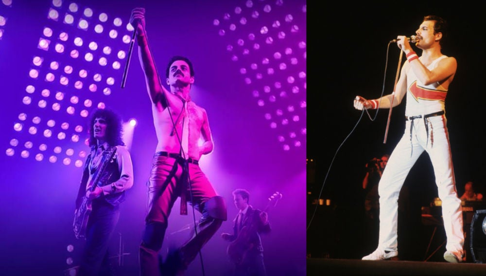 Rami Malek interpreta a Freddie Mercury en 'Bohemian Rhapsody'