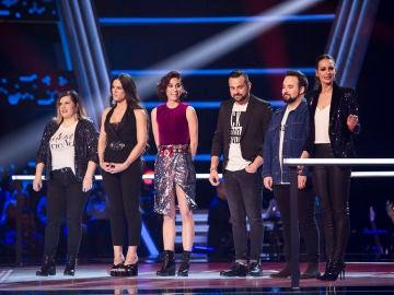 VÍDEO: Teresa Ferrer y Lorena Fernández pasan a la Batalla Final de 'La Voz'