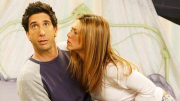 Ross y Rachel en 'Friends'