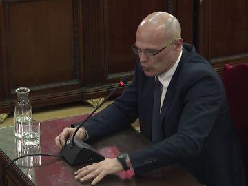 """Romeva, sobre las protestas del 20-S: """"Manifestarse no es un delito, las únicas armas que hubo fueron las de la Guardia Civil"""""""