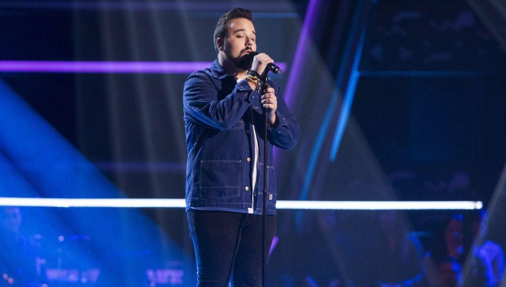 VÍDEO: Juanfra Anguita canta 'Story of my life' en los Asaltos de 'La Voz'