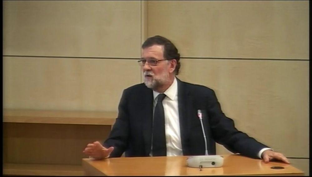 Rajoy declarará como testigo en el juicio al 'procés' el 27 de febrero