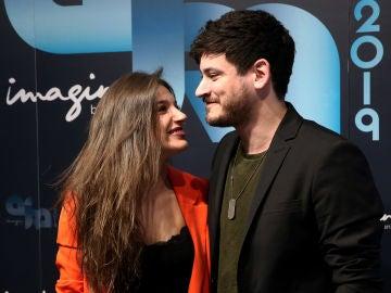 Ana Guerra y Cepeda durante la presentación de la gira