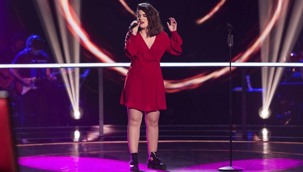 VÍDEO: Natalia Bradi canta 'Creep' en los Asaltos de 'La Voz'