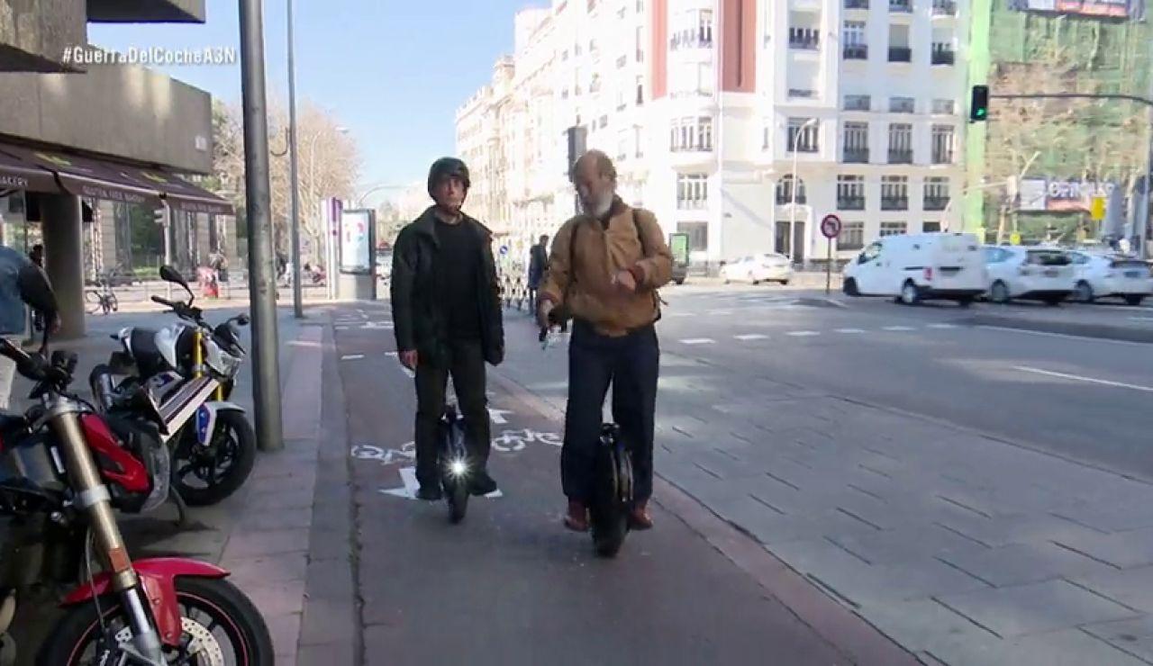 Los nuevos vehículos de movilidad personal luchan por hacerse un hueco en el asfalto