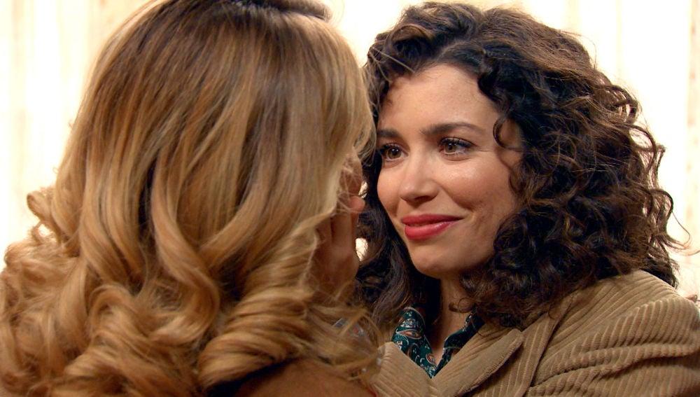 Luisita y Amelia ya tienen su nidito de amor