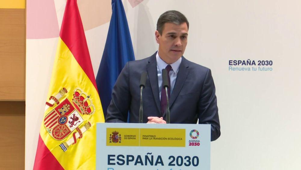 Pedro Sánchez calcula que el Plan de Energía y Clima generará 300.000 nuevos empleos en la próxima década