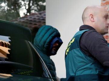 El detenido como presunto inductor del asesinato del concejal de Llanes