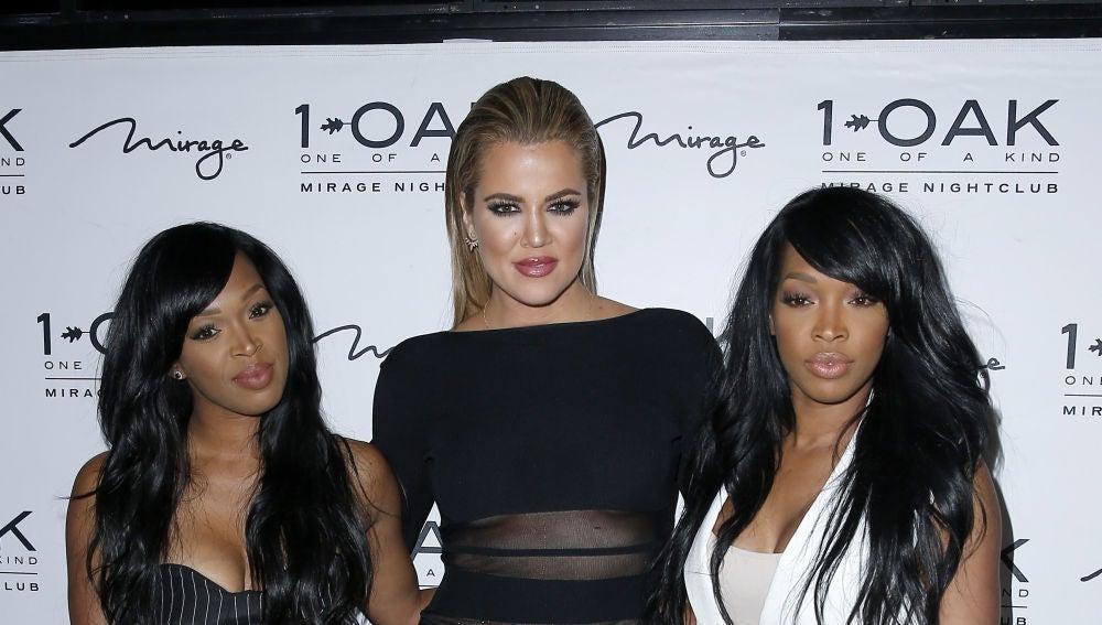 Khloé Kardashian junto a Malika Haqq