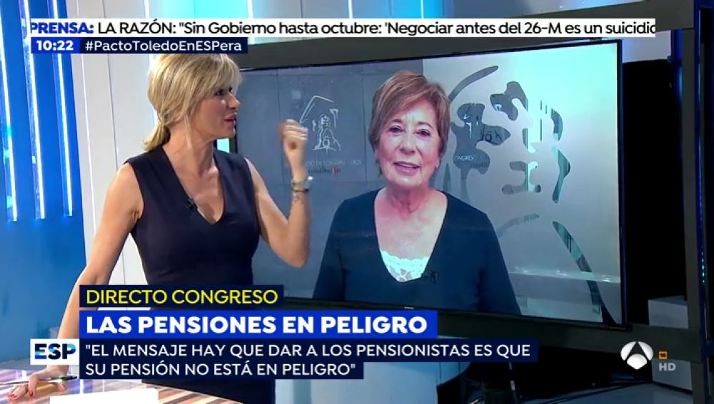 Celia Villalobos deja la política.