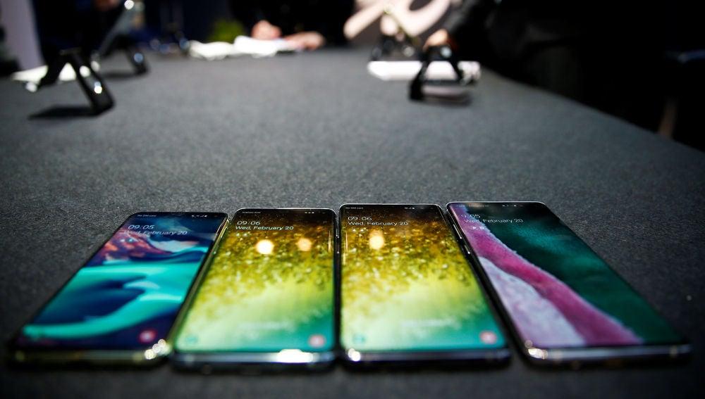 Los últimos modelos de móvil presentados por Samsung