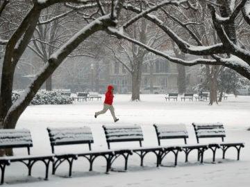 Tormenta de nieve en Washington