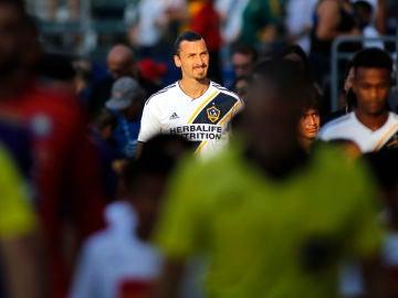 Zlatan Ibrahimovic, jugador de Los Angeles Galaxy