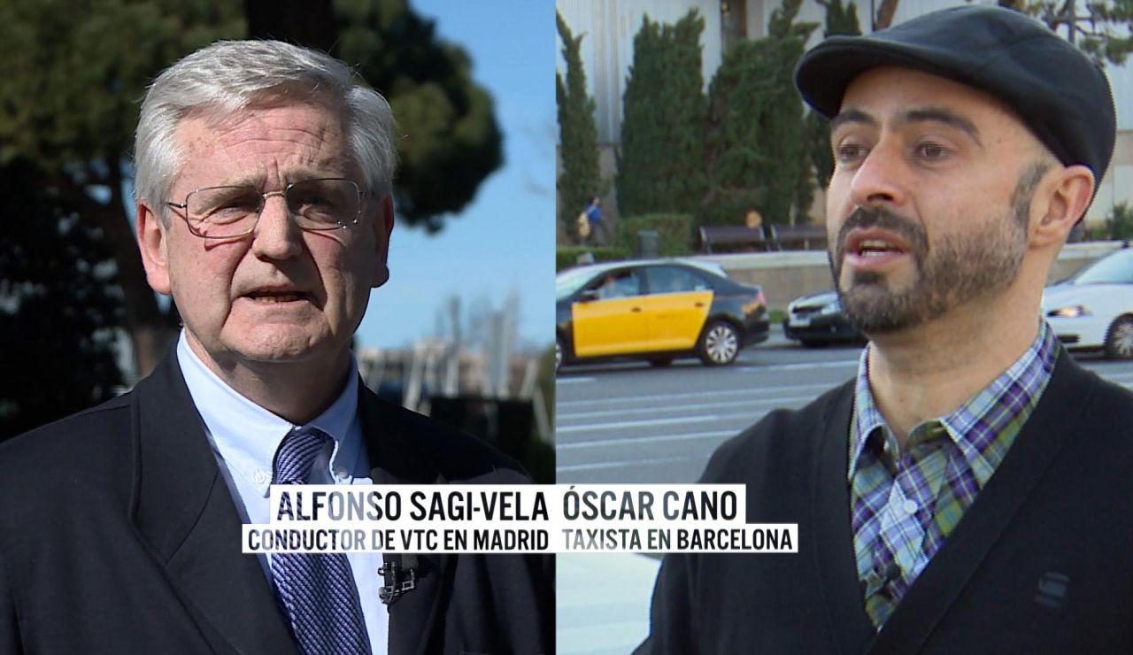 Pros y contras de los taxis y los VTC