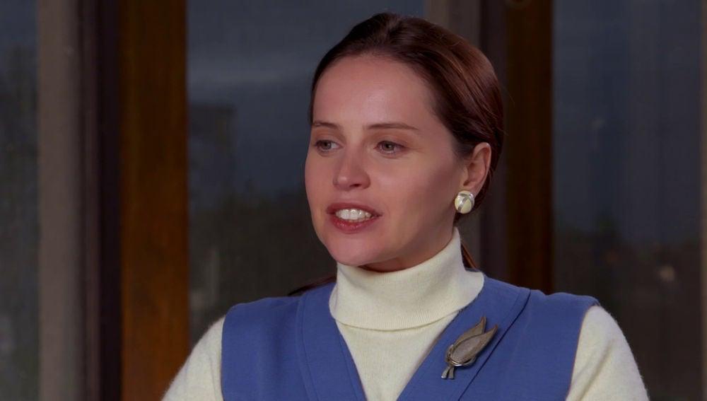Felicity Jones, protagonista de 'Una cuestión de género'