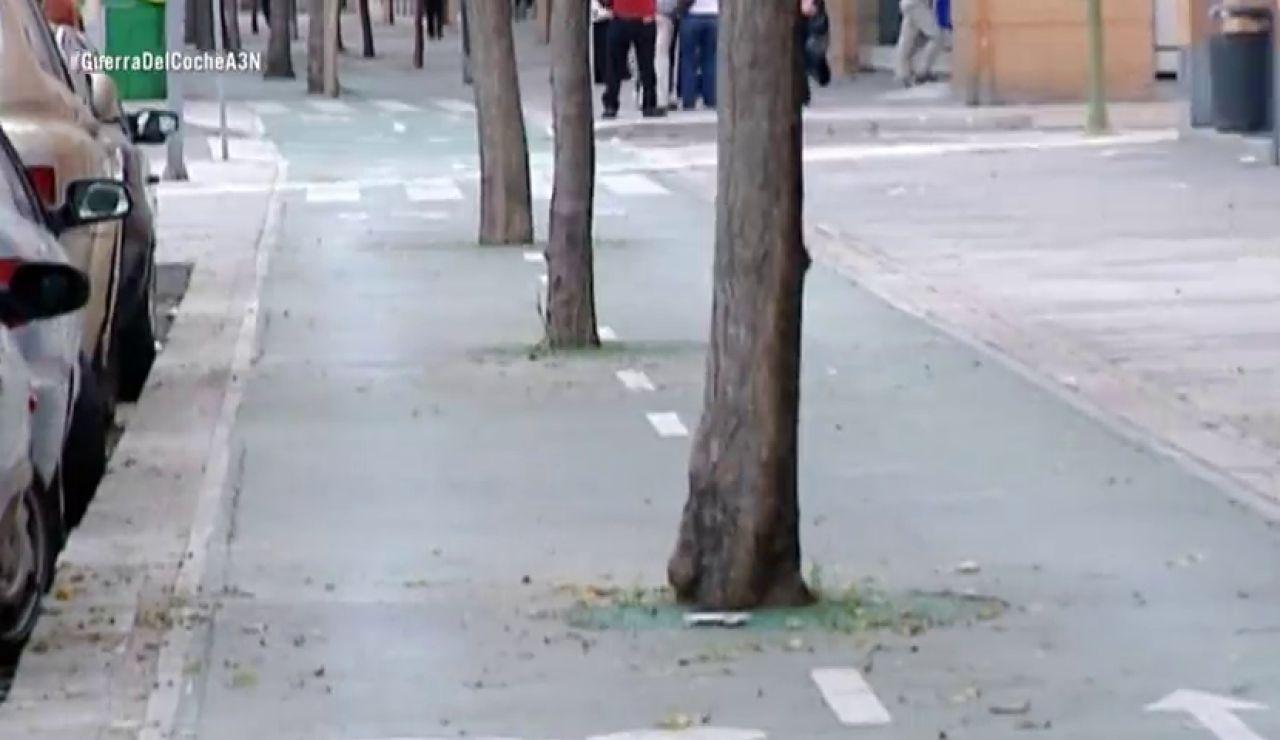 Las redes sociales desvelan que andar, pedalear y conducir tiene sus riesgos