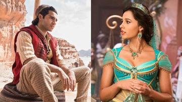 Aladdin y Jasmine en el remake en acción real