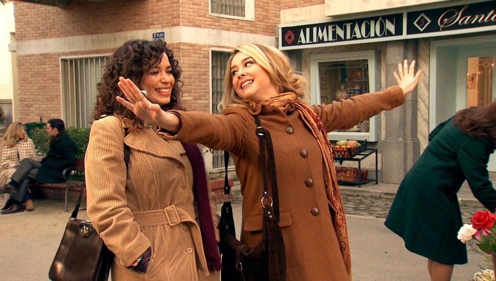 """Luisita, ante su nueva vida con Amelia: """"Es el día más feliz de mi vida"""""""