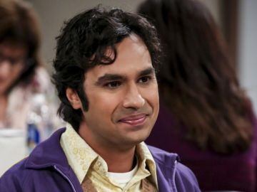 Kunal Nayyar, Raj en 'The Big Bang Theory'