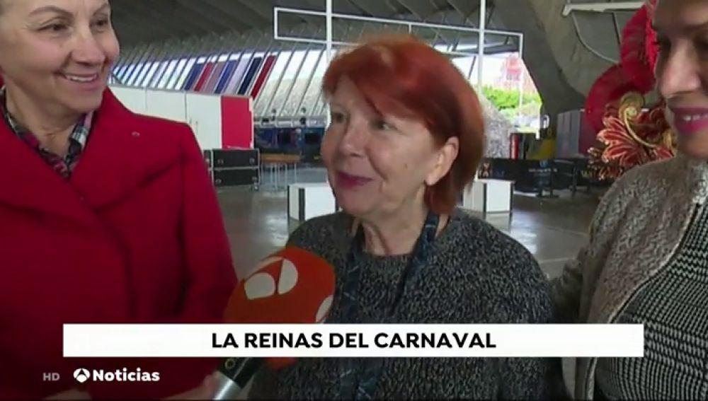 """Nueve candidatas a """"Reina de los Mayores"""" en el carnaval de Tenerife"""
